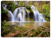 Summer Cascades Waterfalls - Canvas Art Print - Canvas Art Plus