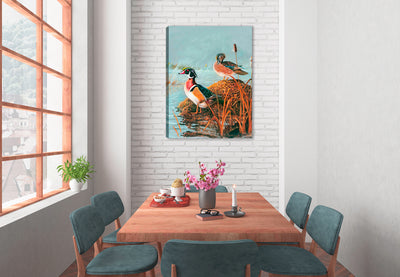 Ghost Lake Woodies - Canvas Wrap