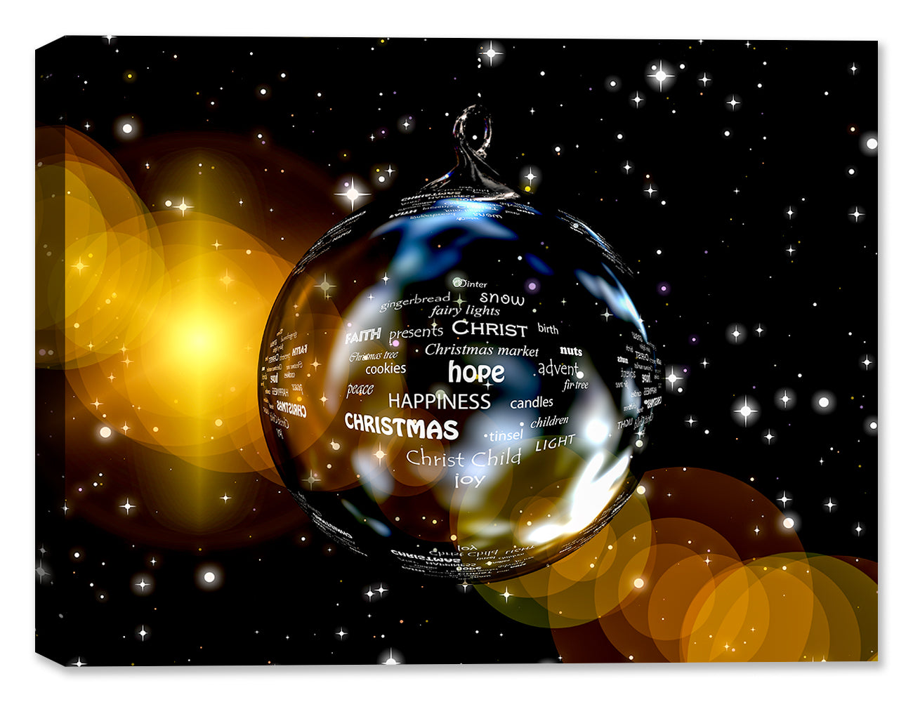 Christmas Ornament  - Canvas Art