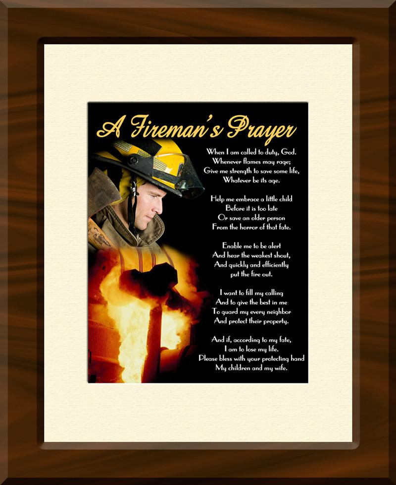 Fireman's Prayer II