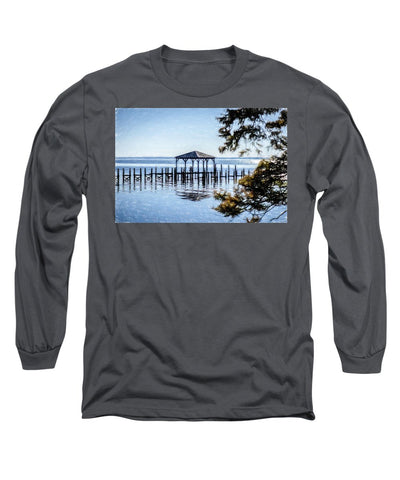 Outer Banks Pier - Long Sleeve T-Shirt