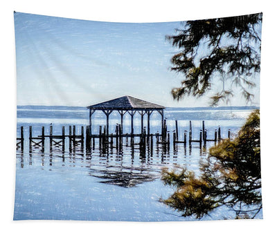 Outer Banks Pier - Tapestry