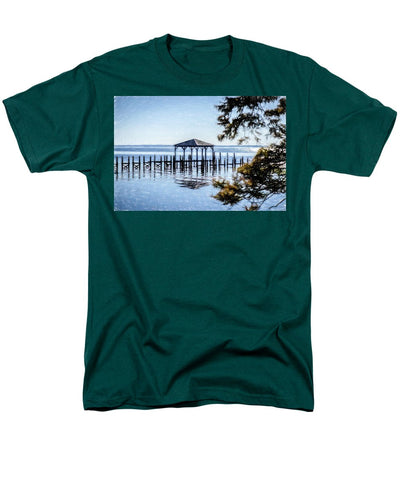 Outer Banks Pier - Men's T-Shirt  (Regular Fit)
