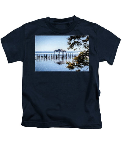 Outer Banks Pier - Kids T-Shirt
