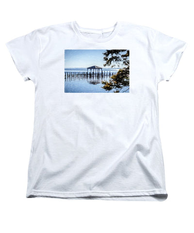 Outer Banks Pier - Women's T-Shirt (Standard Fit)