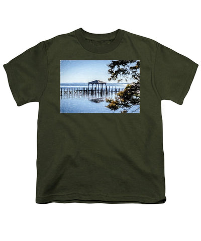 Outer Banks Pier - Youth T-Shirt