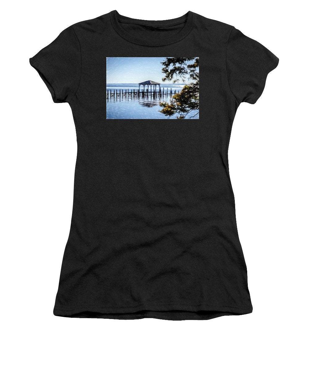 Outer Banks Pier - Women's T-Shirt