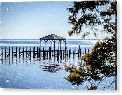Outer Banks Pier - Acrylic Print