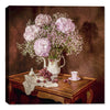 Hydrangea in Vase - Still Life Painting - Canvas Art Plus