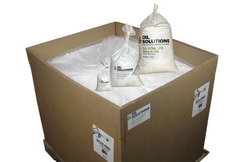 Oil Solutions Oil Absorbent Powder