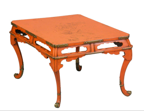A Japanese  Lacquer Low Table
