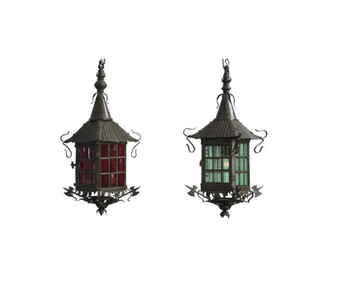 A Pair of Swedish Lanterns