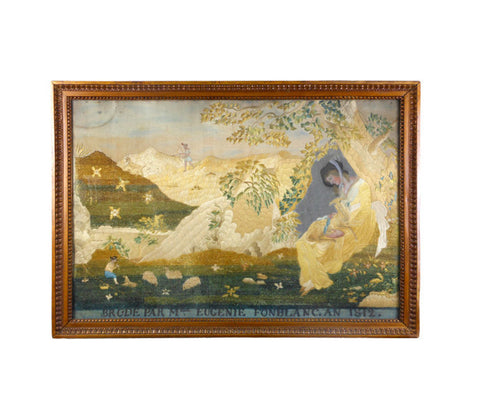 A French Pastoral Needlework