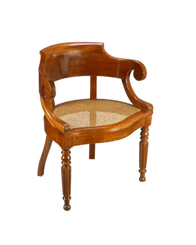 A Charles X Period Mahogany Armchair