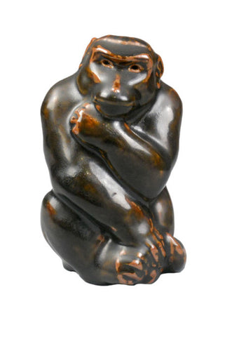 A Danish Sculpture of a Monkey