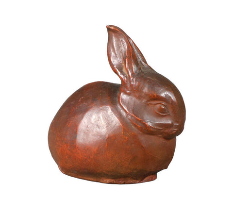 A French Terra Cotta Rabbit Sculpture
