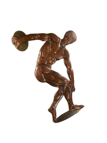An Art Deco Relief of the Discus Thrower