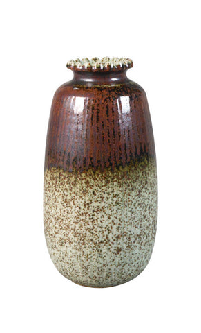 A Canadian Earthenware Vase