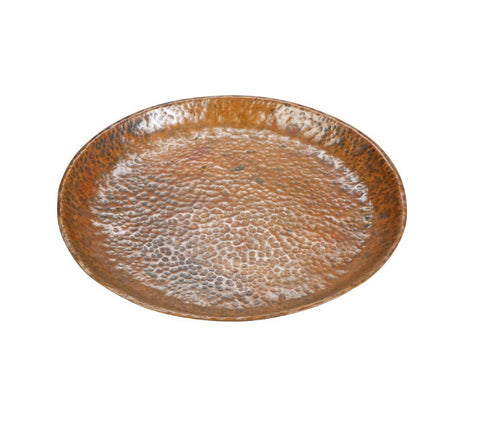 An Arts and Crafts Hammered Copper Tray