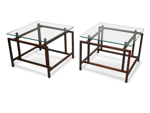 A Pair of Danish Low Tables