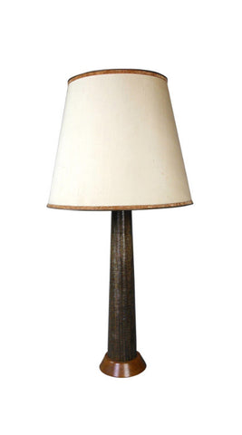 A Swedish Modern Column Lamp