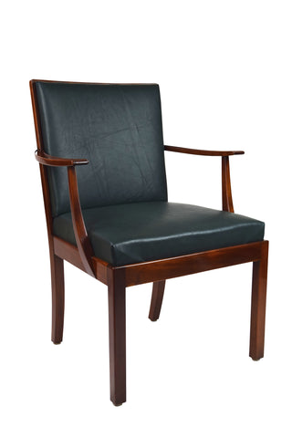 A Danish Mahogany Chair