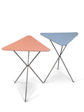 A Pair of Triangular Formica Tables