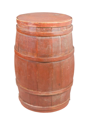 A Canadian Painted Barrel