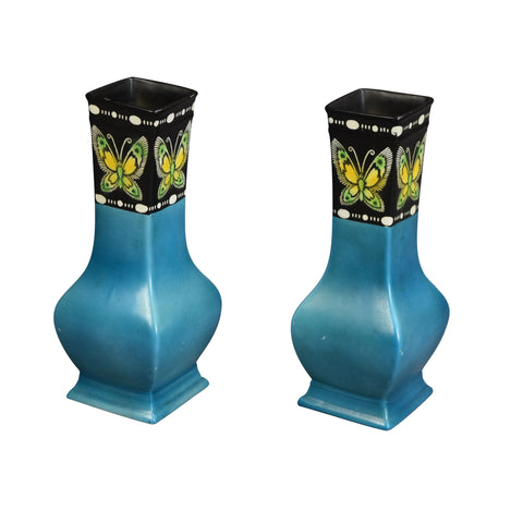 Pair of Shelley Vases