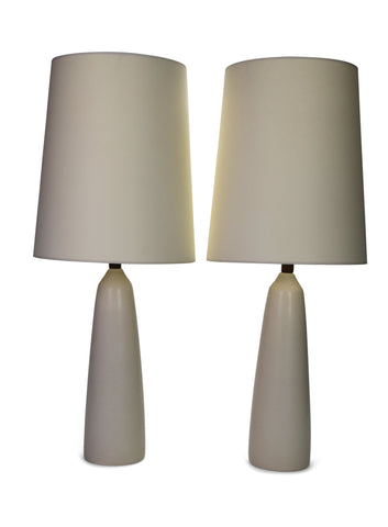 A Pair of Ceramic Lamps by Lotte