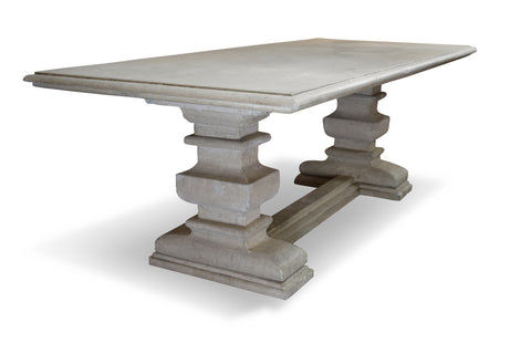 French Limestone Table