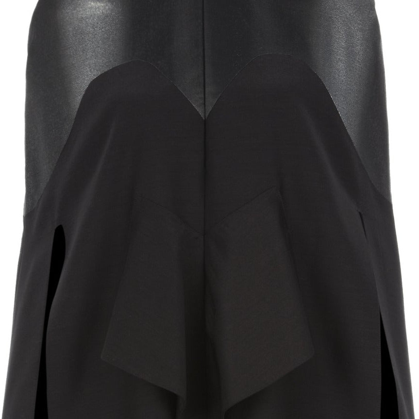 Fuzzed Slip Cape solid black Zoom close-up image photo picture
