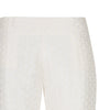 Beige Hexagon Trouser straight leg texture front close-up image photo picture