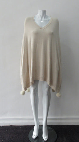 20ANG03 -Angela Mara Basic Cardigan Pearl White