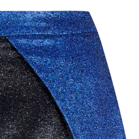 Sparkle Open Skirt zoom view blue black image photo picture