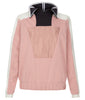 Pique Top Blouse pink beige black image photo picture