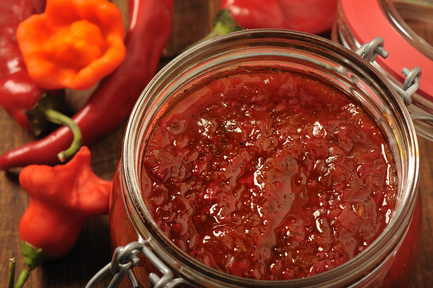 Hot Pepper Apple Jelly