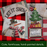 Wooden Snowman Christmas Sleigh Wall Décor -- Let It Snow