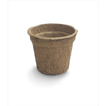 100% Organic Recycled Paper Seed Starter Pots -- Biodegradable, Sustainable & Peat-Free -- 108 Pots plus 24 Tags