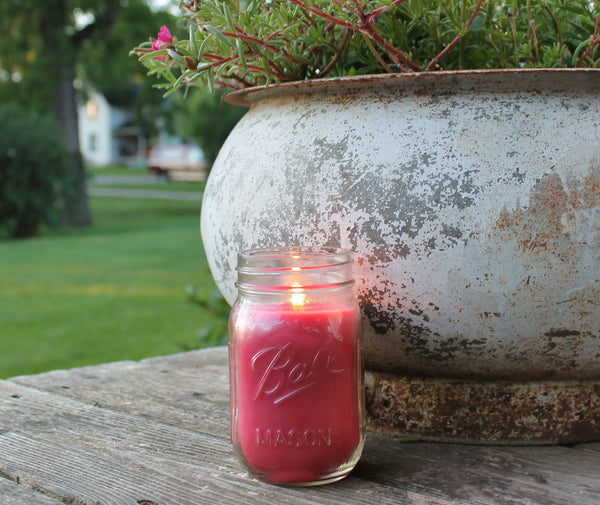 Natural Rosemary & Sage Mosquito Repellent Candle
