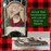 Christmas Sled Wooden Ornaments (set of 3) Santa Claus & Reindeer