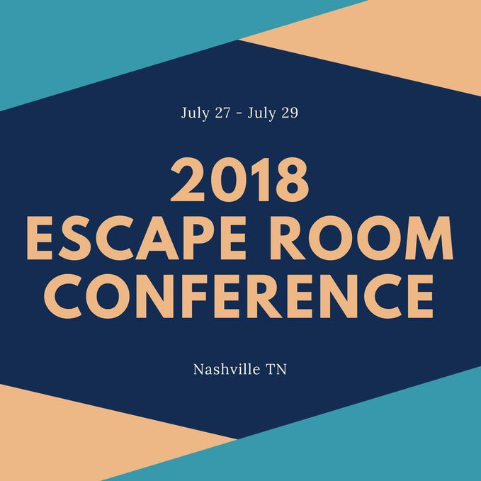 2018 Nashville Escape Room Conference