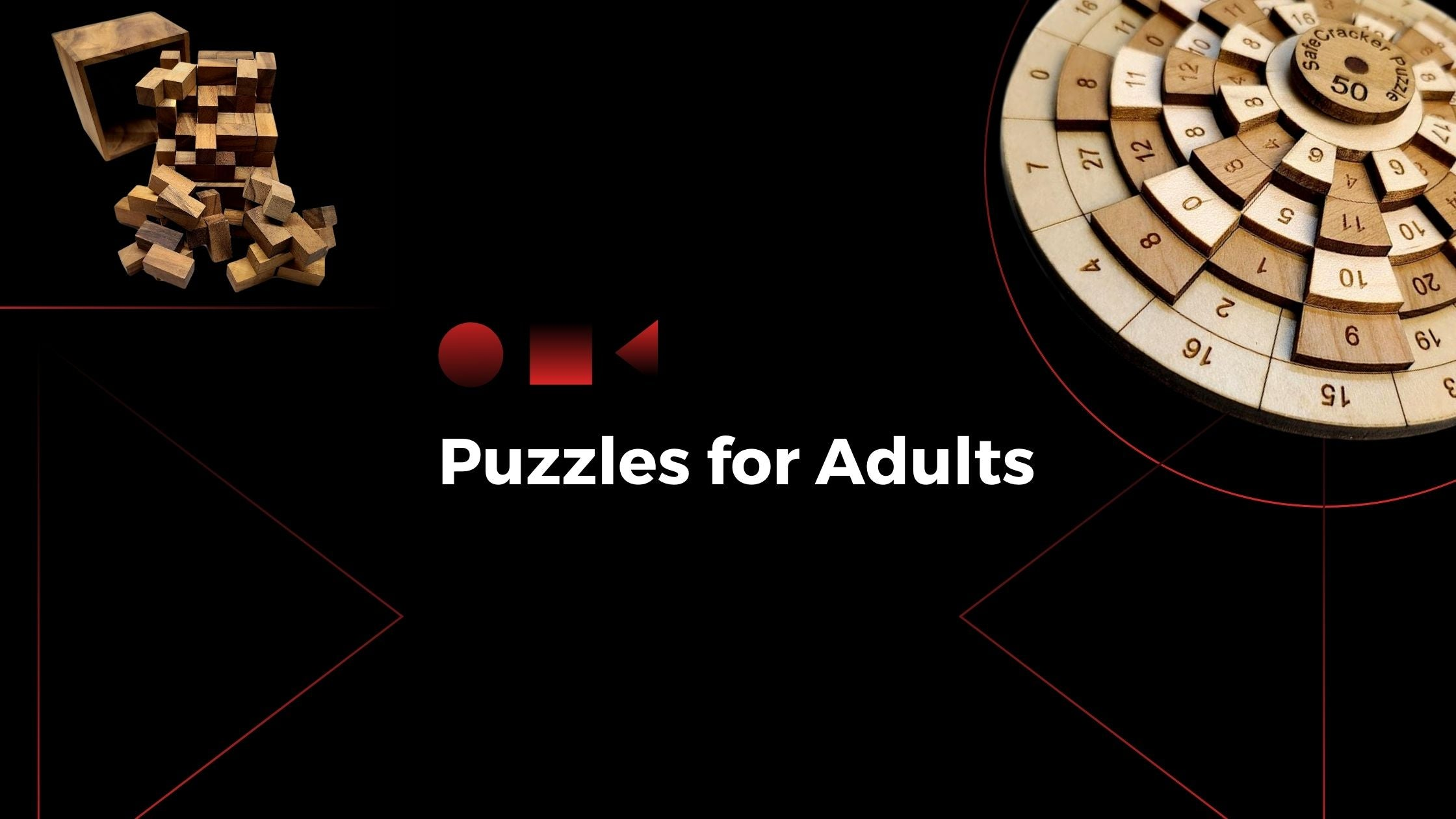 Wooden Puzzles for Adults