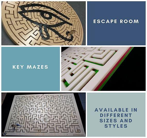 Buy the Perfect Key Maze for Your Escape Room Today!