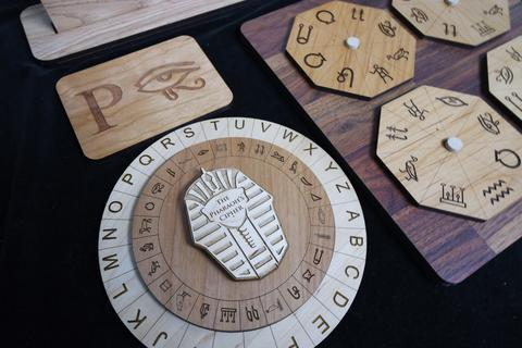 Egyptian Themed Escape Room Puzzles and Props