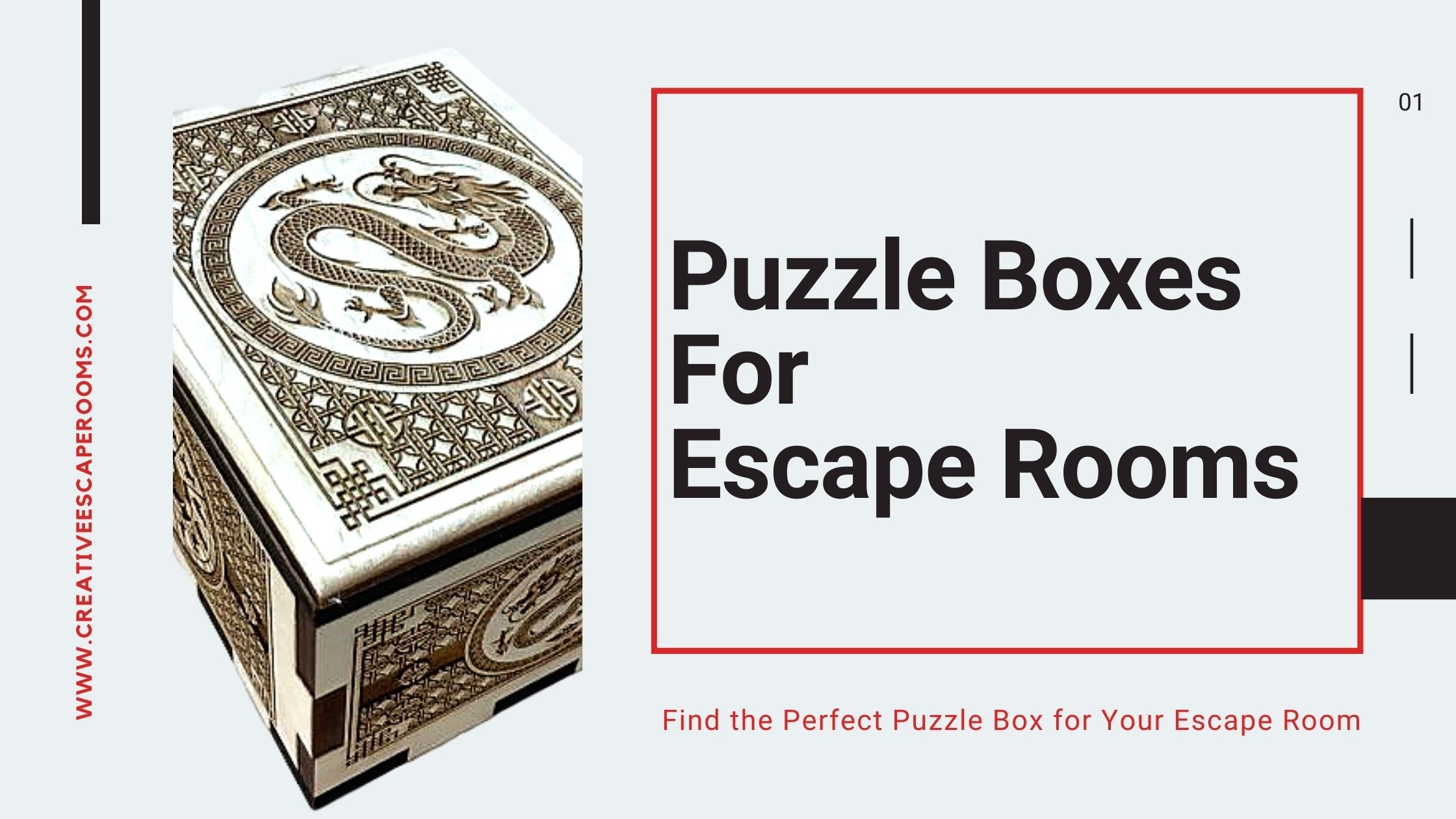 Escape Room Puzzle Boxes