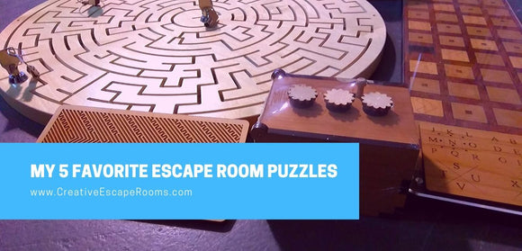 My 5 Favorite Escape Room Puzzles