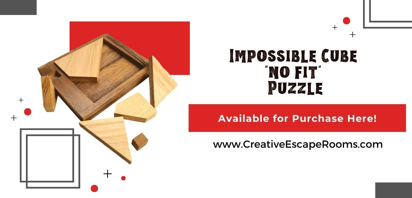 Purchase the Impossible Cube NO FIT Puzzle Here