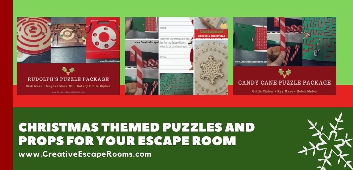 Start Creating Your Christmas Themed Escape Room Today