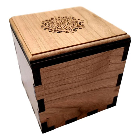 Wood Puzzle Boxes and Lock Boxes